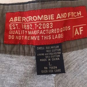 ABERCROMBE and FITCH SNOWBOARDING PANTS